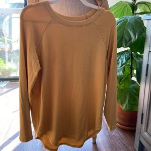 American Eagle Plush & Sexy Marigold Top